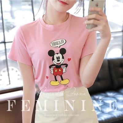 1区100%正宗韩国官网代购(韩国直发包国际运费)fiona-T恤(2020-05-25上架)