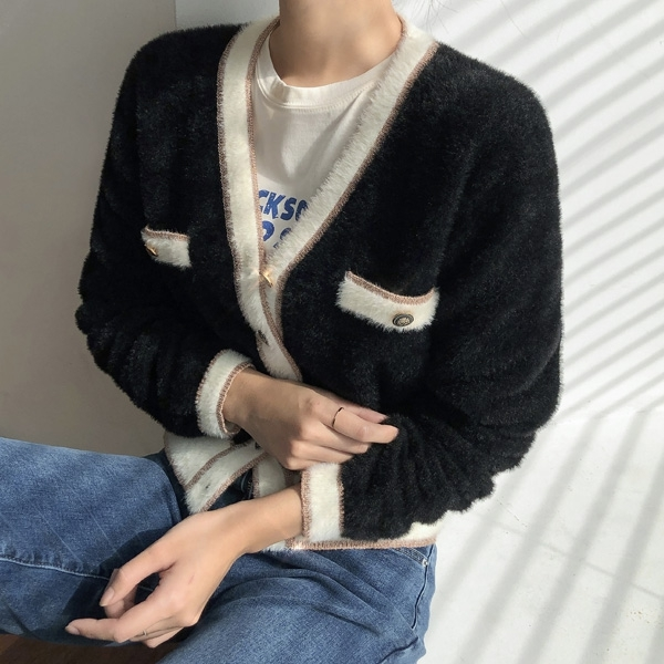 1区100%正宗韩国官网代购(韩国直发包国际运费)Nain-开襟衫(2020-10-22上架)