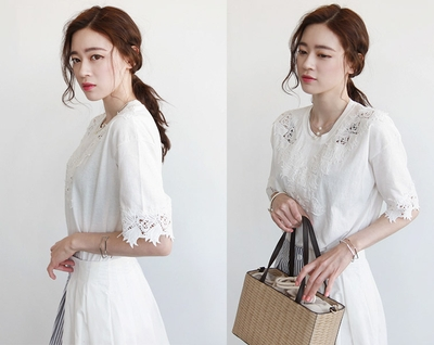 niponjjuya-魅力感性纯色T恤