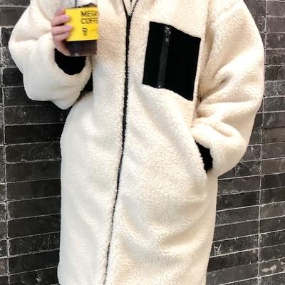 1区韩国本土服装代购(韩国圆通直发)niponjjuya-大衣(2018-11-13上架)