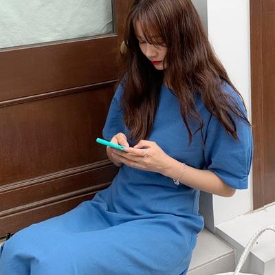 1区100%正宗韩国官网代购(韩国直发包国际运费)Ontheriver-连衣裙(2019-07-31上架)