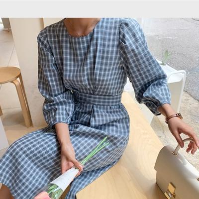 1區100%正宗韓國官網代購(韓國直發包國際運費)Ontheriver-連衣裙(2019-08-09上架)