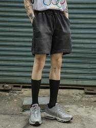 1区2017夏装新款|正宗韩国代购韩国发货|openthedoor品牌韩国休闲松紧腰舒适中裤(2017.7月)