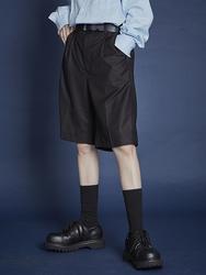 1区2017秋季新款|韩国发货|openthedoor品牌韩国复古宽松高腰中裤(2017.8月)