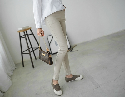 peper-时尚流行松紧长裤