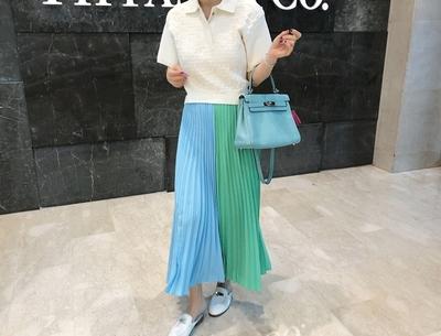1区韩国本土服装代购(韩国圆通直发)pinkboll-时尚魅力韩版长裙(2018-04-24上架)
