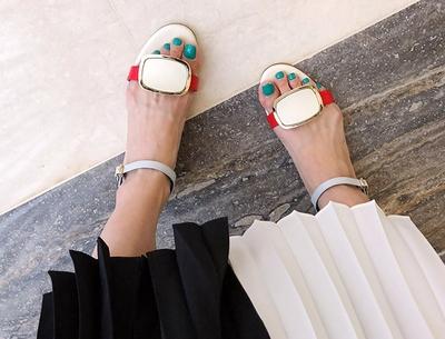 1区韩国本土服装代购(韩国圆通直发)pinkboll-时尚风格高档凉鞋(2018-04-24上架)