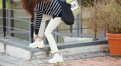 pippin-简约纯色百搭长裤