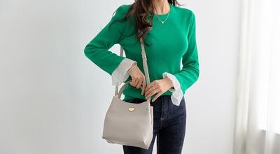 1区韩国本土服装代购(韩国圆通直发)pippin-新款韩版修身针织衫(2018-04-24上架)