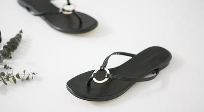 1区韩国本土服装代购(韩国圆通直发)pippin-韩版新款休闲凉鞋(2018-04-24上架)