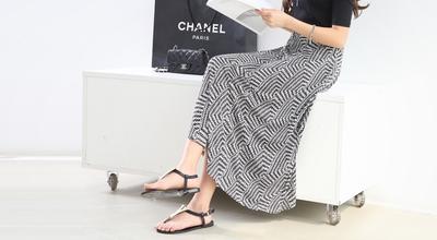 1区韩国本土服装代购(韩国圆通直发)pippin-时尚新款韩版长裙(2018-04-25上架)
