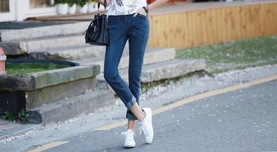 1区韩国本土服装代购(韩国圆通直发)pippin-个性流行新款牛仔裤(2018-04-24上架)