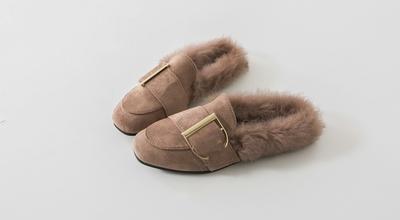 pippin-日常时尚纯色平底鞋