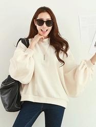 2018新款韩国服装pippin品牌时尚魅力宽松卫衣(加绒)(2018.1月)