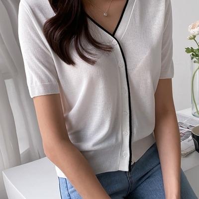 1区100%正宗韩国官网代购(韩国直发包国际运费)pippin-开襟衫(2020-07-04上架)