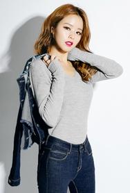 1区韩国代购|网店代理女装planj-PJKN00937631-时尚双v领竹节针织衫