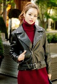 1区韩国代购|网店代理女装planj-PJJK00956162-时尚淑女复古夹克