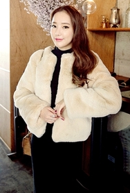 1区韩国代购|网店代理女装planj-PJJK00965956-韩版时尚保暖女士魅力夹克