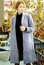 1区韩国代购|网店代理女装planj-PJCT00967672-秋季时尚女士休闲大衣