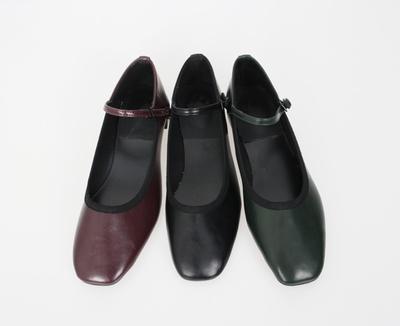 1区韩国本土服装代购(韩国圆通直发)Prost-J-个性韩版复古平底鞋(2018-07-09上架)