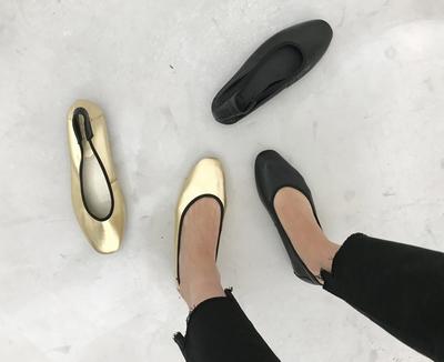 1区韩国本土服装代购(韩国圆通直发)Prost-J-高档韩版复古平底鞋(2018-07-09上架)