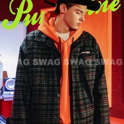 1区韩国本土服装代购(韩国圆通直发)Punchline-夹克(2018-09-18上架)