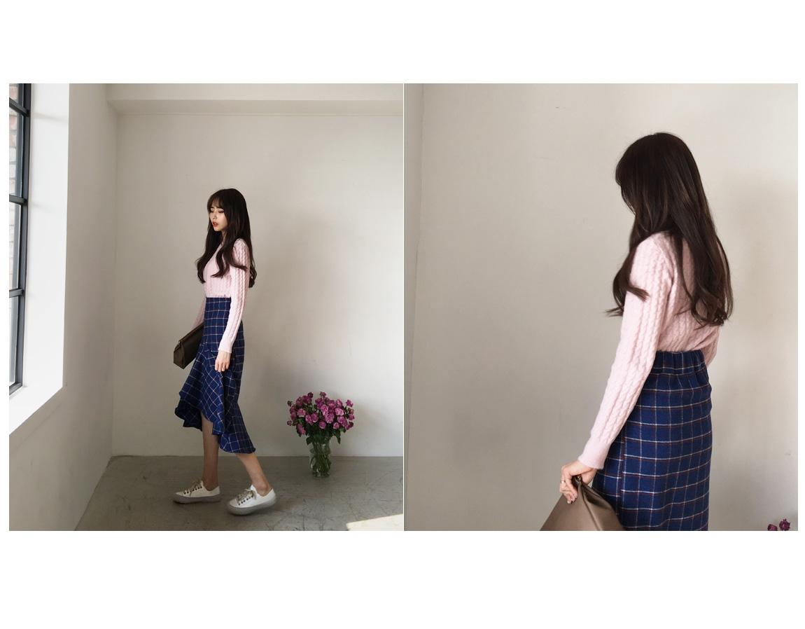 qnigirls-韩国搭配纯色可爱魅力韩国代购网站马甲女装