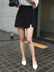 qnigirls-韩国搭配魅力女性新款韩国代购短裤女装2017年08月01日08月款