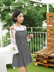 qnigirls-韩国韩版夏季流行休闲套装女装2017年08月07日08月款