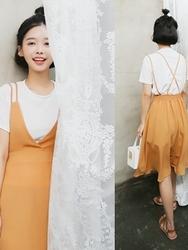 qnigirls-韩国可爱搭配魅力新款休闲套装女装2017年08月07日08月款