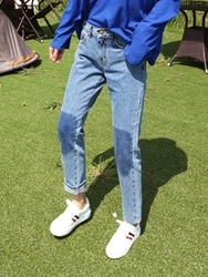qnigirls-韩国韩版魅力个性韩国代购牛仔裤女装2017年08月09日08月款