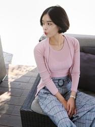 qnigirls-韩国韩版女性魅力个性流行休闲套装女装2017年08月09日08月款