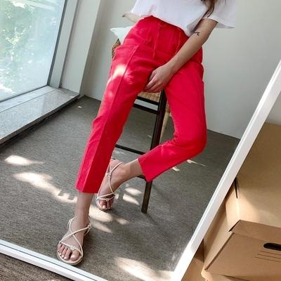 1区韩国本土服装代购(韩国圆通直发)qnigirls-韩版时尚流行长裤(2018-07-07上架)