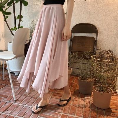 1区韩国本土服装代购(韩国圆通直发)qnigirls-舒适时尚韩版长裙(2018-07-10上架)
