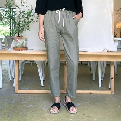 1区韩国本土服装代购(韩国圆通直发)qnigirls-宽松时尚新款长裤(2018-07-10上架)
