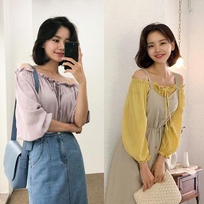 1区韩国本土服装代购(韩国圆通直发)qnigirls-衬衫(2018-07-14上架)