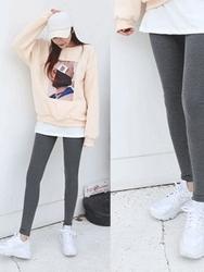 2018新款韩国服装qnigirls品牌保暖冬季个性裙裤(2018.1月)