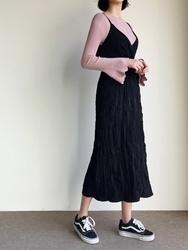 2018新款韩国服装qnigirls品牌韩版魅力吊带新款连衣裙(2018.1月)