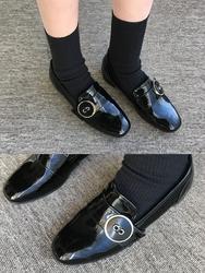 2018新款韩国服装qnigirls品牌亮片时尚魅力平底鞋(2018.1月)