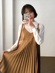 2018新款韩国服装qnigirls品牌时尚搭配魅力吊带连衣裙(2018.1月)