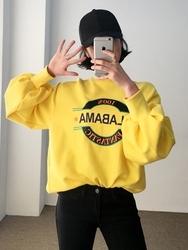 2018新款韩国服装qnigirls品牌字母时尚魅力卫衣(2018.1月)