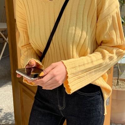 1区韩国本土服装代购(韩国圆通直发)qnigirls-针织衫(2019-03-19上架)