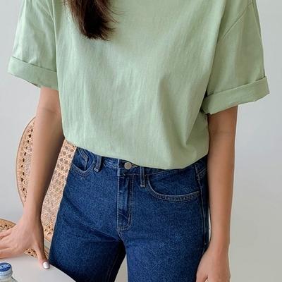 1区100%正宗韩国官网代购(韩国直发包国际运费)qnigirls-T恤(2019-07-15上架)