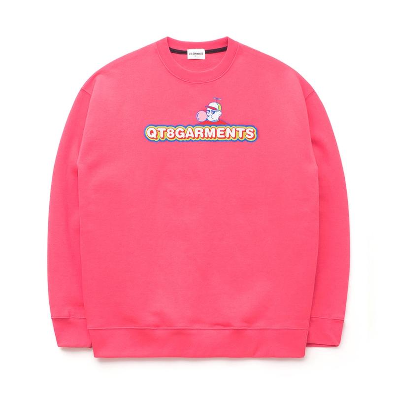 開韓國女裝店正宗韓國官網代購韓國直發包國際運費QT Garments衛衣