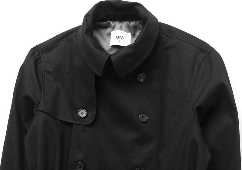 韓國知名服裝品牌正宗韓國官網代購韓國直發包國際運費QT Garments大衣