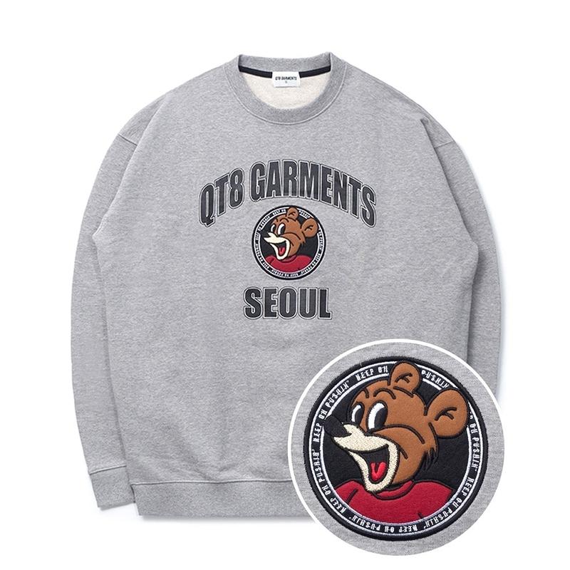 1区100%正宗韩国官网代购(韩国直发包国际运费)QT8 Garments-卫衣(2021-03-05上架)