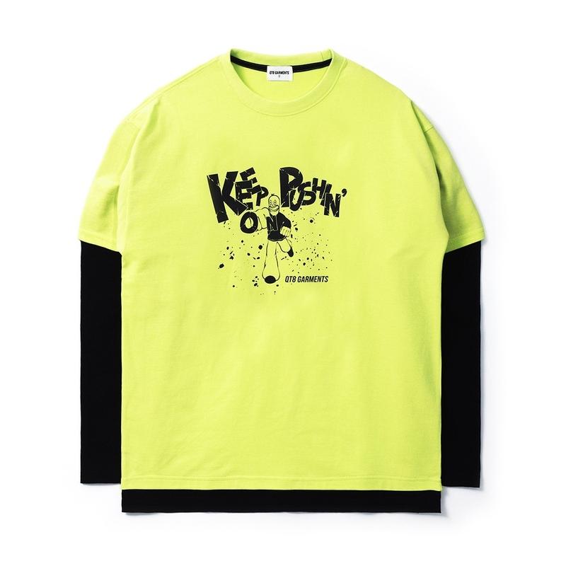 1区100%正宗韩国官网代购(韩国直发包国际运费)QT8 Garments-T恤(2021-03-12上架)