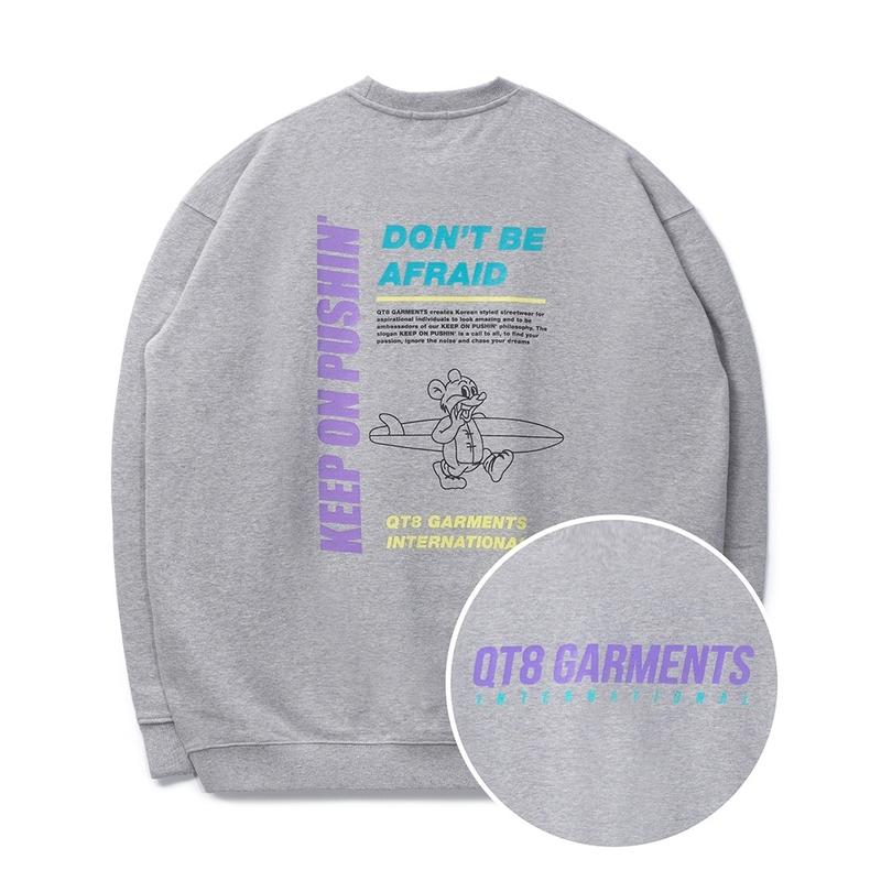1区100%正宗韩国官网代购(韩国直发包国际运费)QT8 Garments-卫衣(2021-03-24上架)