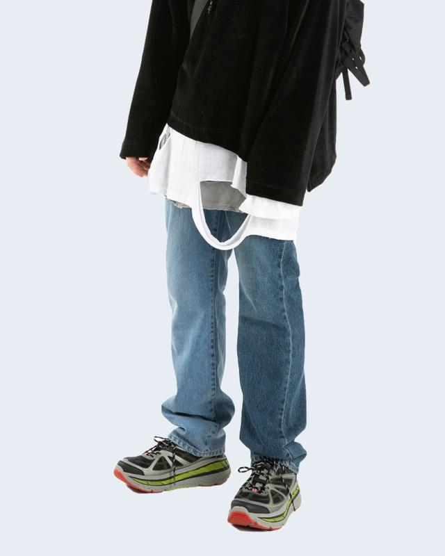 1区100%正宗韩国官网代购(韩国直发包国际运费)Rauco House-牛仔裤(2019-08-14上架)