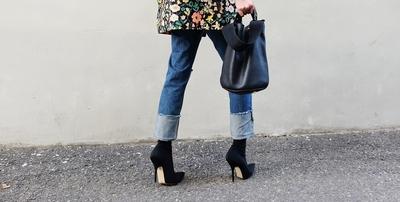ribbontie-魅力时尚女士牛仔裤